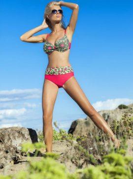 Bikini mit Blumenmuster-Bis zu -50% im Sommer-Sale