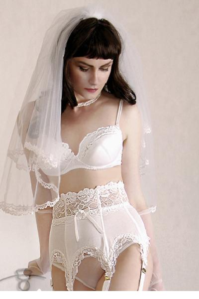 Luxus BH Burlesque Hochzeit Dessous