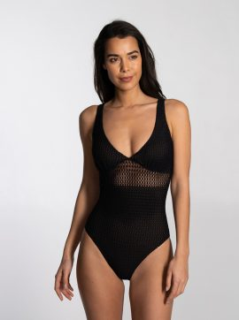damen-badeanzug-schwarz